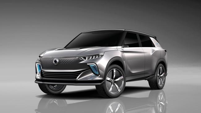 SsangYong, la firma coreana que nos falta en México, presentó el e-SIV EV Concept en Ginebra