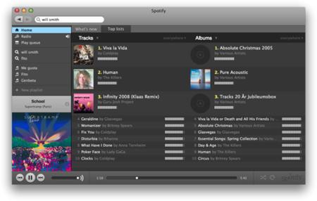 Publicada la API de Spotify