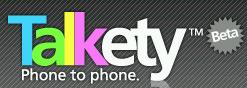 Talkety, llamadas de teléfono a teléfono desde internet