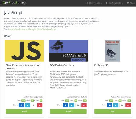 Javascript Devfreebooks