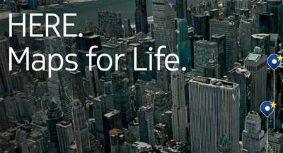 Nokia HERE Maps llega a Android, exclusivamente para los Samsung Galaxy