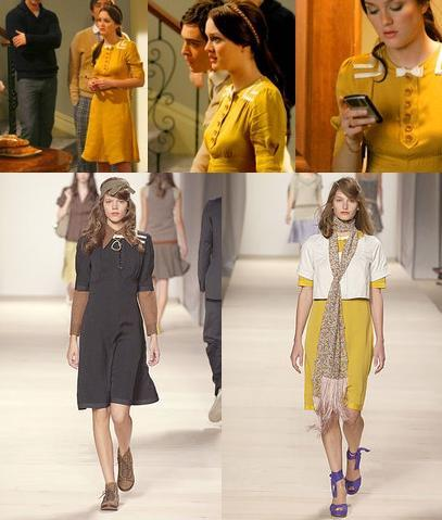 Gossip Girl viste de Marc by Marc Jacobs