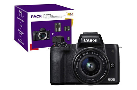 Canon Eos M50 Pack