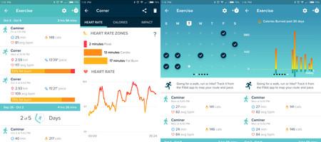 Capturas 1 Fitbit App