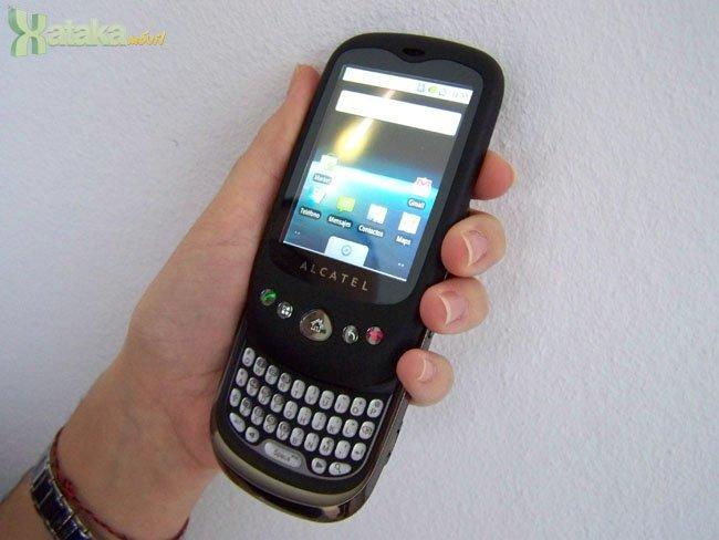 Alcatel OT-980 con Android 2.1