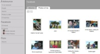 Fotobounce, gestión de fotos con integración con Flickr y Facebook