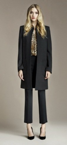 Zara Otoño 2010 abrigo corto