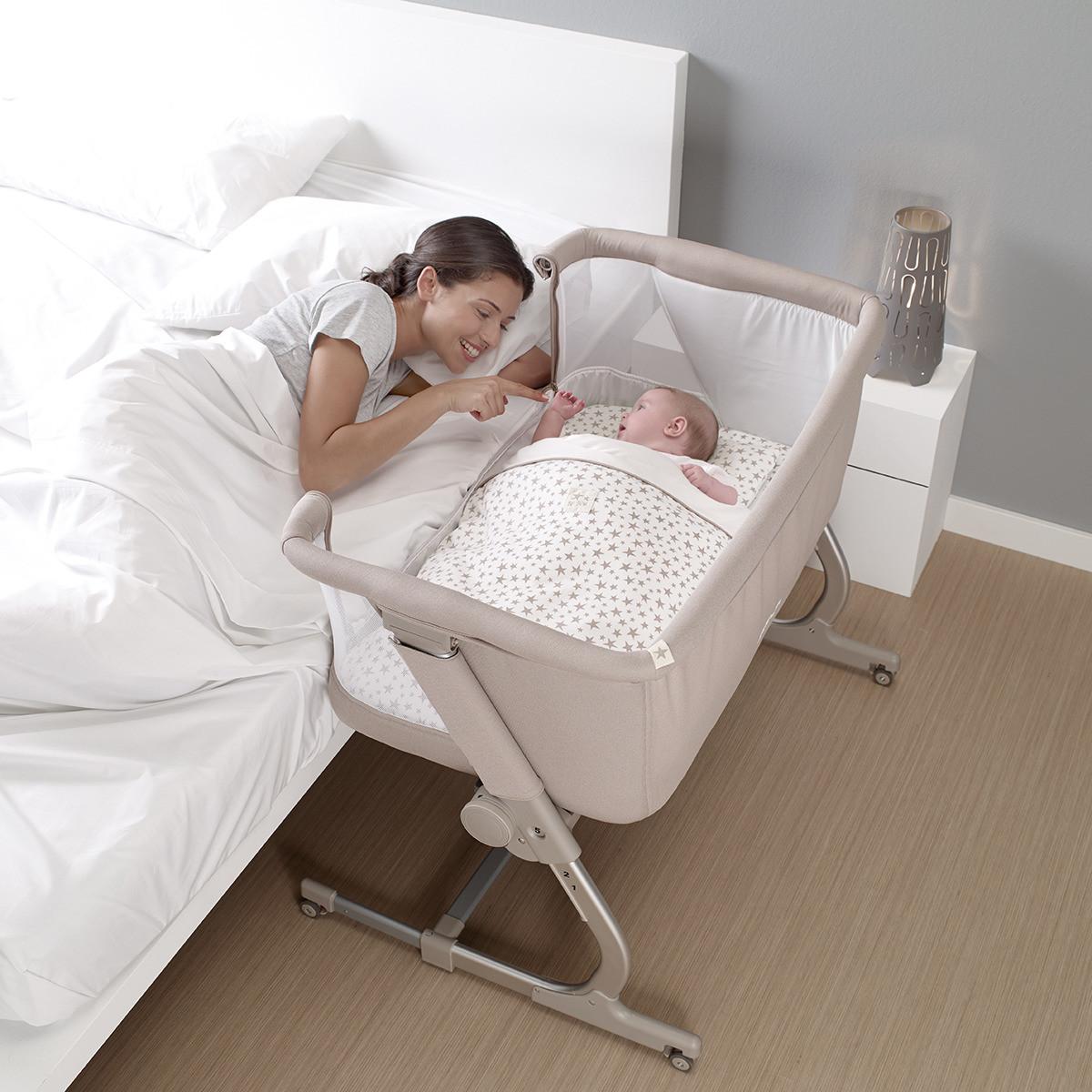 5dd3ffa1cec Cunas colecho para dormir junto a tu bebé