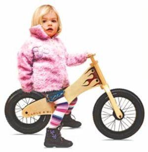 Early Rider: una bicicleta infantil de madera