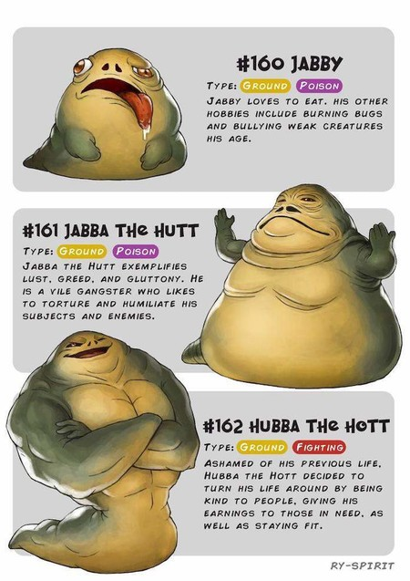Pokemon Star Wars Jabba