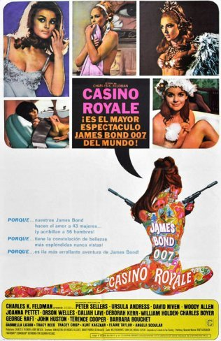 Woody Allen: 'Casino Royale', desastrosa parodia de James Bond