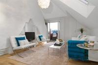 Casas que inspiran: decorar un ático pequeño y abuhardillado