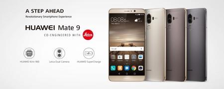 Huawei Mate 9, con cámara dual Leica y batería de 4.000mAh, por 399 euros y envío gratis desde España
