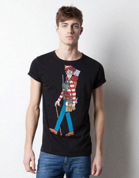 Camiseta ¿Dónde está Wally? de Pull & Bear