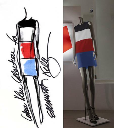 El pintor Ellsworth Kelly elige a Francisco Costa de Calvin Klein Collection para que le ayude a reinterpretar una de sus obras