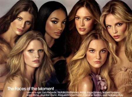 Vogue US escoge a las modelos más representativas de la actualidad II
