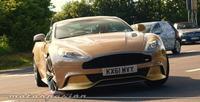 """El nuevo Aston Martin Vanquish, de """"paseo"""" por Nürburgring Nordschleife"""