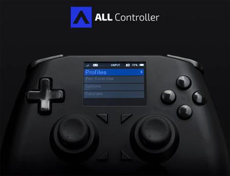 ¿Un mando compatible con PC y todas las consolas? All Controller pretende ser eso y más