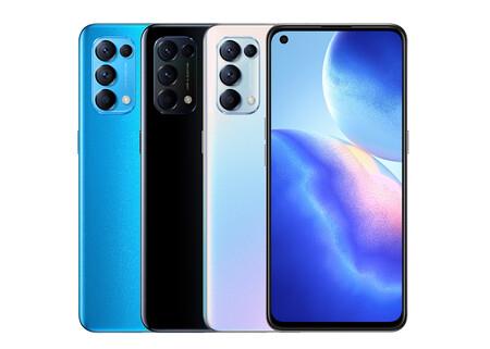 OPPO Find X3 Lite: conectividad 5G y pantalla a 90 Hz para el un modelo más compacto y que mantiene la carga rápida a 65 W