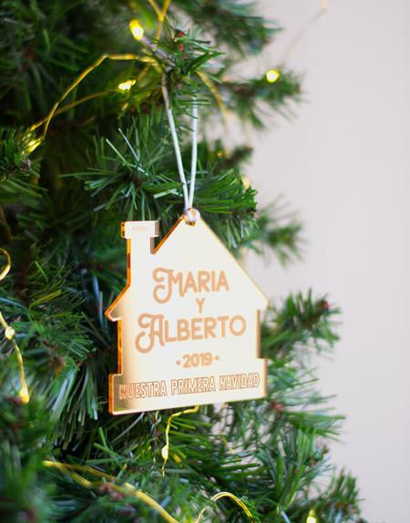 Adorno Navidad Personalizado Primera Casa