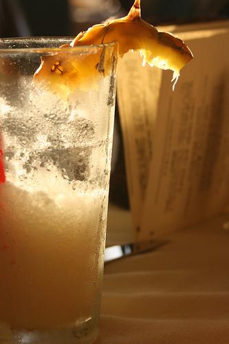 Cocktail de piña