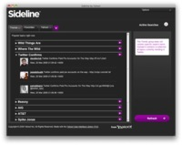 Sideline permite la monitorización de Twitter