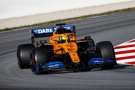 Norris Barcelona F1 2020