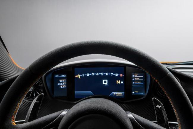 Así luce el interior del McLaren P1