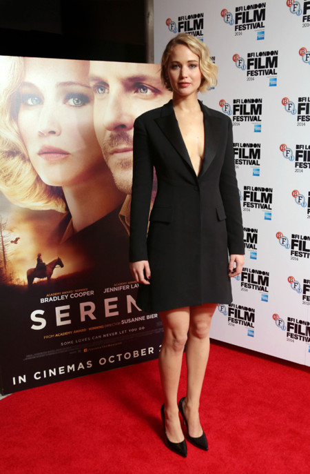 Jennifer Lawrence Serena Londres Bfi