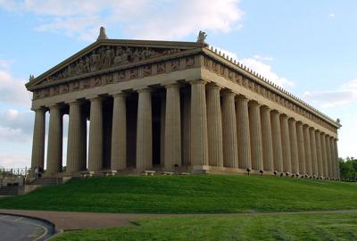 La imagen de la semana: el Partenón de Nashville
