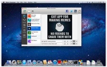 MemeGenerator, un generador de memes para OS X