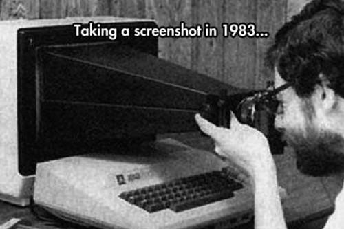Así se hacían las capturas de pantalla de los ordenadores de Apple hace 35 años