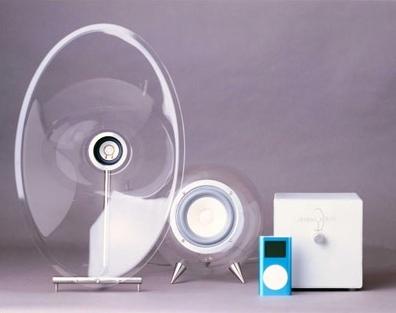 FH-007, altavoces transparentes