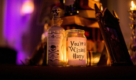 Harry Potter Themed Wedding Cassie Lewis Byrom 7