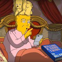 'Los Simpson' se burlan de los primeros 100 días de mandato de Donald Trump, la imagen de la semana