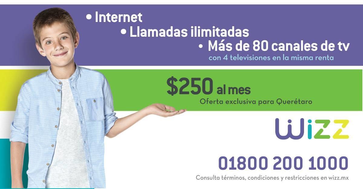 Wizz El Nuevo Servicio De Internet Telefonia Y Tv Por Cable Se Estrena En Queretaro