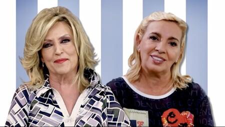Carmen Borrego y Lydia Lozano