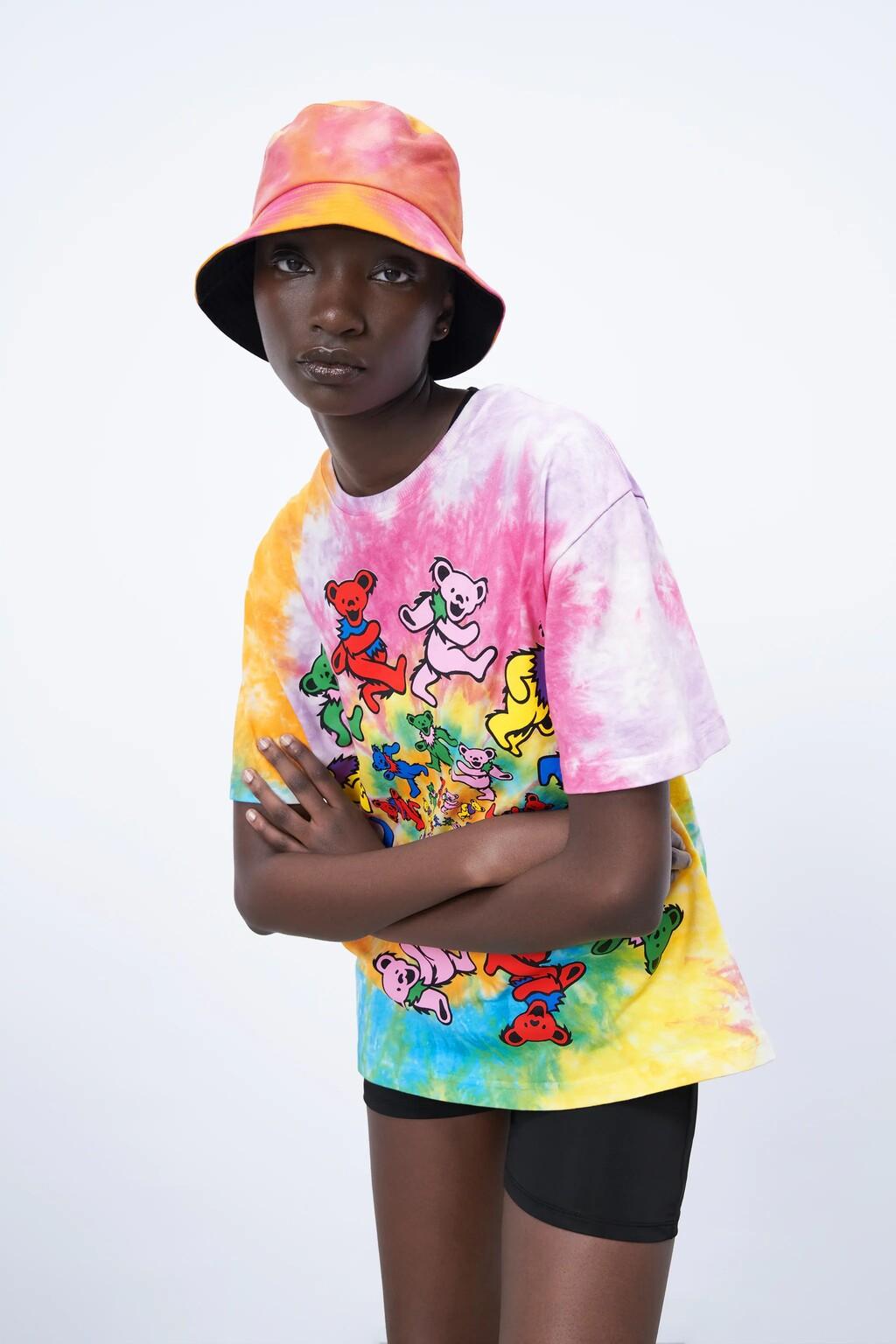 Esta es la nueva camiseta de Zara de Grateful Dead que el verano pasado lució (de manera exacta) Fedez