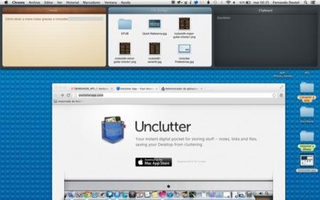 Unclutter, liberando nuestro escritorio de archivos