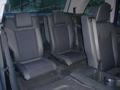 Opel Zafira OPC - Asientos