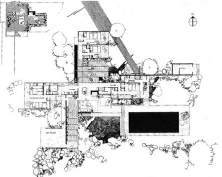Casas con nombre kaufmann desert for Planos de arquitectura pdf
