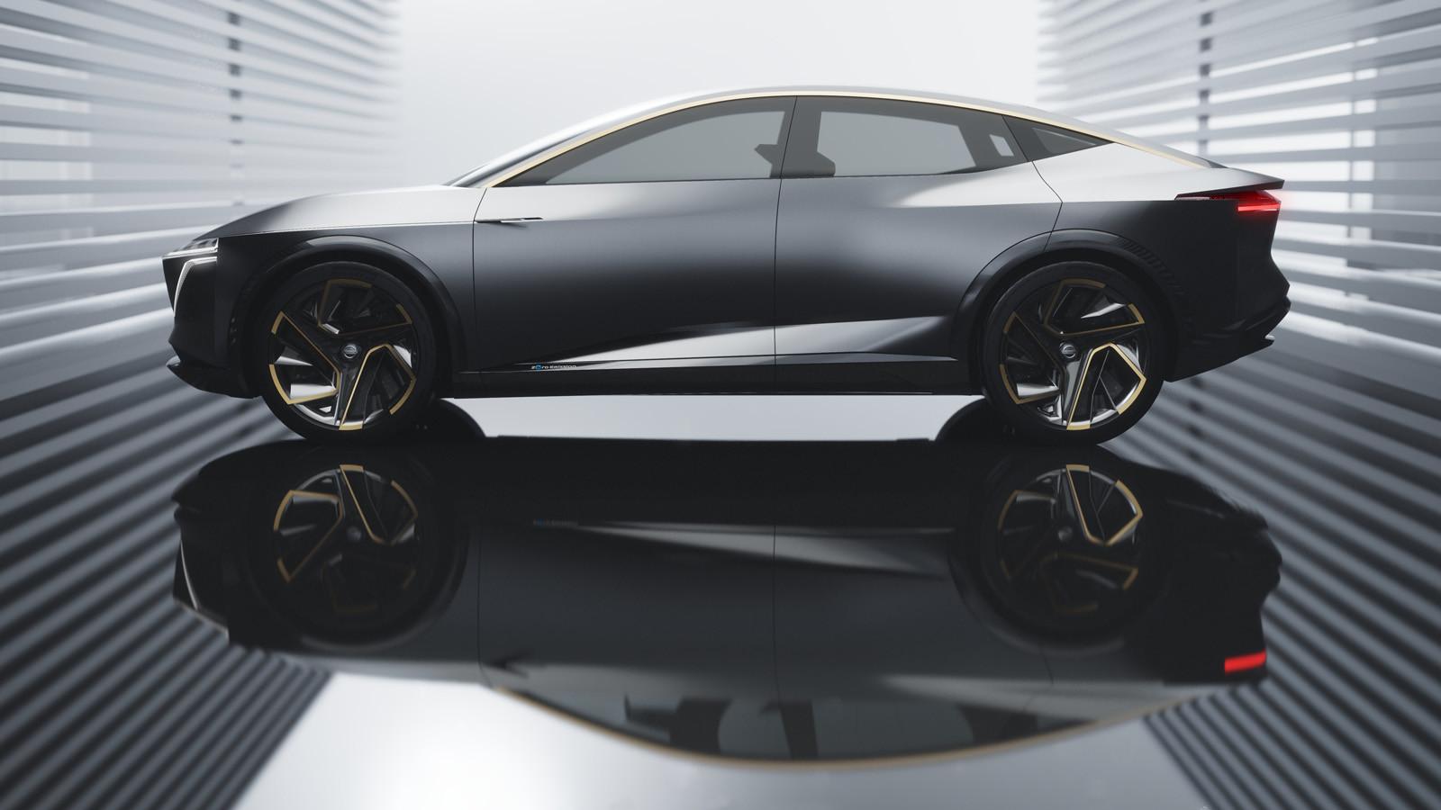 Foto de Nissan IMs EV Sports Sedan concept (4/31)