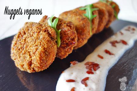 Como Hacer Nuggets Veganos Arroz Rojo 1 1