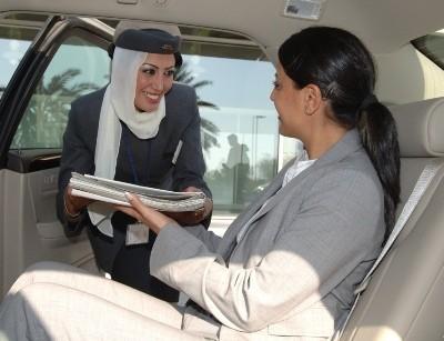Servicio de chófer privado en el aeropuerto
