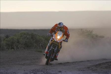 Dakar 2009: Jacobacci - Neuquen, etapa 4