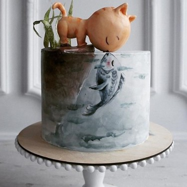 ¿Postre o arte? Las tartas de esta pastelera rusa son auténticos cuentos de hadas dulces (y ya han enamorado a Instagram)