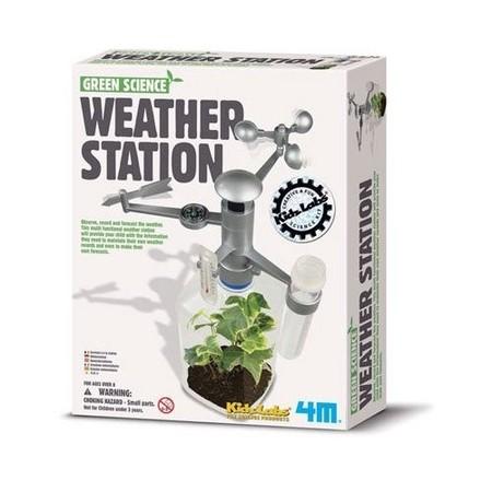 ¡Al mal tiempo... muchas oportunidades para aprender! Estación meteorológica para niños
