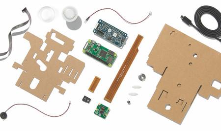 Los materiales del Vision Kit