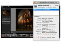 Activar Lightroom modo 64 bit en Mac