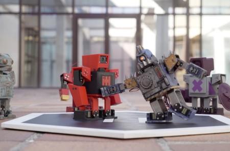 Los Zowimanoides son robots imprimibles 3D que bq nos permite personalizar y programar para que luchen entre ellos sin cuartel
